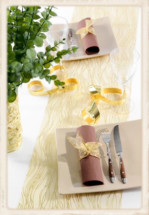 Tischläufer Dekoration Silvester
