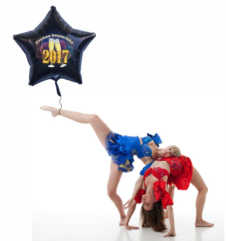 Dekoration-Silvester-Ballonsupermarkt-Onlineshop-Riesiger-Sternballon-2017-Champagner-Feuerwerk