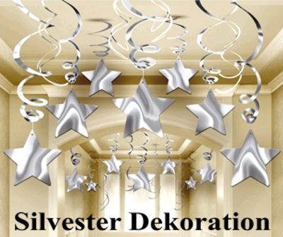 dekoration silvester f r gastgeber gastronomie und. Black Bedroom Furniture Sets. Home Design Ideas