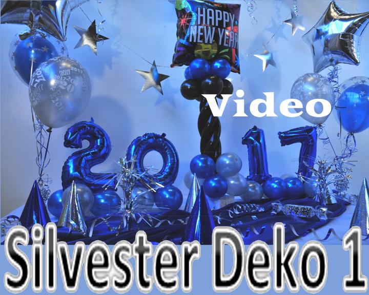 Dekoration Silvester 1 Video