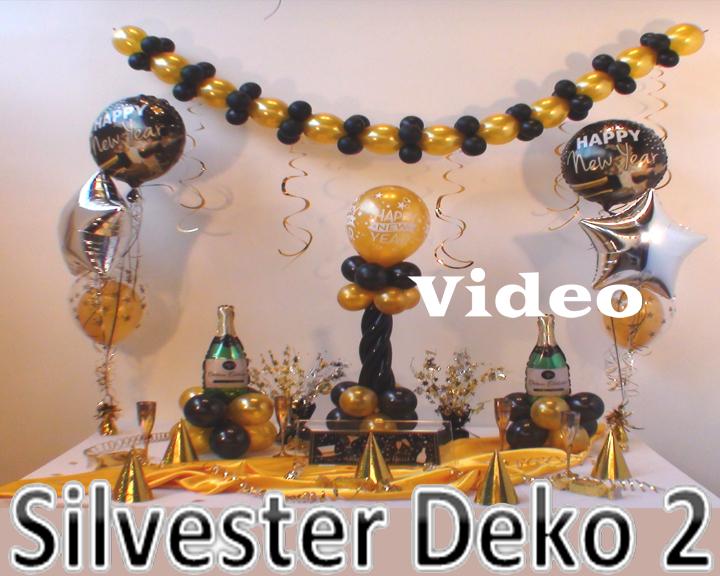 Dekoration Silvester 2